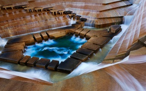 Picture USA, Texas, Fort Worth, Water gardens