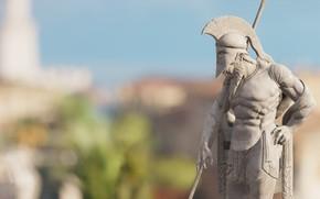 Picture background, statue, Assassin's Creed Origins, The Hidden Ones
