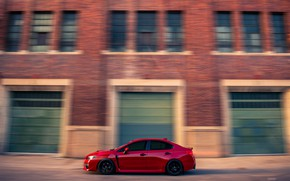 Picture background, speed, Subaru, car