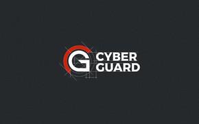 Picture Logo, minimalism, minimalism, Logo, Cyber Guard, Protection, Protect, CyberGuard