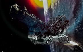 Picture planet, Marios Artwork, mars mission explorer-II
