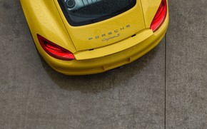 Picture machine, auto, ass, Road, Yellow, Porsche, Porsche, Panamera, auto, Yellow, bus, back, Road, Panamera, tire, …