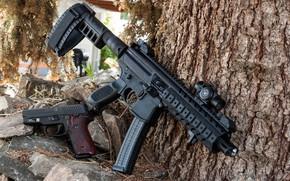 Wallpaper gun, submachine gun, SIG, WHITEFISH, weapon, П226, gun machine gun, SMG, P226, gun, MPX, weapons