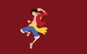 Picture strong, captain, by lucifer012, Luffy, hat, manga, Monkey D. Luffy, straw hat, taichou, gomu gomu …