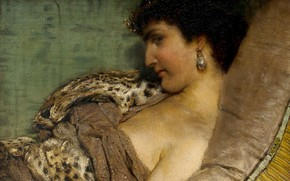 Picture picture, history, Queen, Cleopatra, Lawrence Alma-Tadema, Lawrence Alma-Tadema
