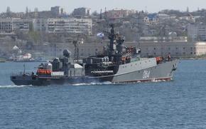Picture ship, anti-submarine, small, The black sea, Muromets