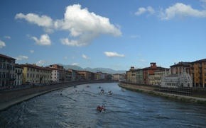 Picture Home, River, Italy, Building, Pisa, Italy, Tuscany, Italia, River, Pisa, Toscana, Tuscany
