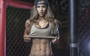 Picture look, pose, fitness, gym, abs, Anllela Sagra