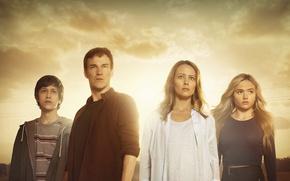Picture X-Men, woman, man, Marvel, Marvel Comics, cast, tv series, The Gifted, Matt Nix