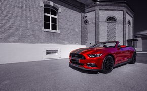 Picture red, Mustang, Ford, 2016 Ford Mustang GT Convertible