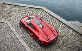 Wallpaper Koenigsegg, supercar, red, Regera, hypercar