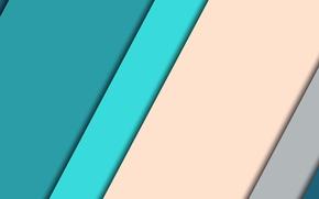 Picture line, blue, design, color, material, beige background