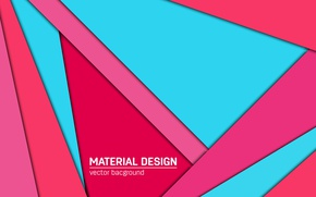Picture vector, geometry, design, color, material