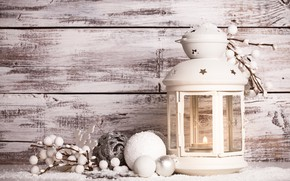 Picture Balls, Lantern, Background, New year, Decoration, Holiday