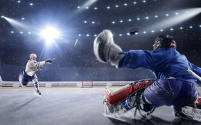 Wallpaper Sport, Uniform, Men, Hockey, Rink