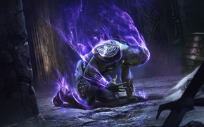 Picture magic, the game, man, art, The Elder Scrolls Legends