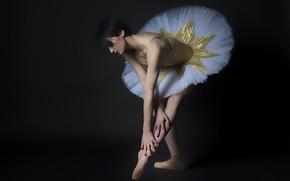 Picture pose, Angela, ballerina