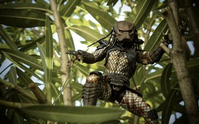 Picture greens, foliage, toy, predator, helmet, figurine, thing