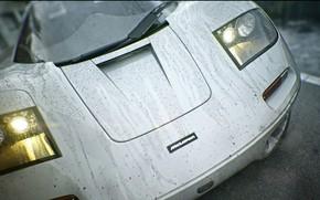 Picture Drops, Auto, Machine, Grey, The hood, Art, Supercar, Rendering, Mclaren, Mclaren f1, Colorsponge Carlos