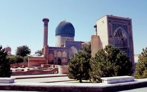 Picture the city, Building, Samarkand