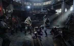 Picture Metro, Metro, 4A Games, Deep Silver, Exodus, Metro: Exodus, Metro Exodus, The outcome, Hansa