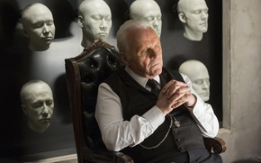 Picture actor, faces, Anthony Hopkins, show, Westworld, Robert Ford