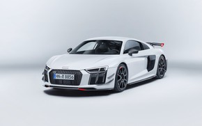 Wallpaper Audi R8, Audi, car, logo