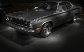 Picture Plymouth, Duster, 1972