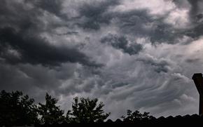 Picture dark, storm, sky, cloud, clouds
