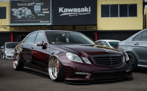Picture mercedes-benz, stance nation, w212