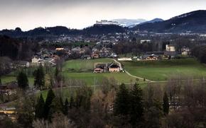 Picture Austria, Panorama, Austria, Salzburg, Salzburg, Panorama