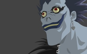 Picture death, monster, Death note, death note, Ryuk, ryuk
