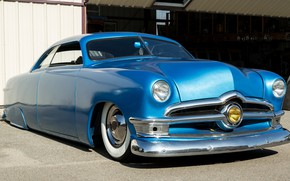 Picture style, Ford, classic, 1950, Custom