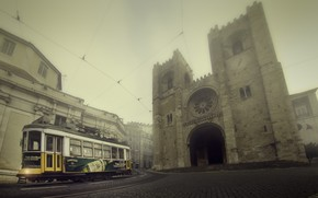 Picture street, tram, Lisbon