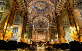 Picture Rome, Italy, Church, San Girolamo dei Croati