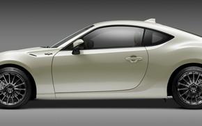 Picture auto, white, background, Scion