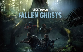 Picture Soldiers, Ubisoft, Game, Tom Clancy's Ghost Recon Wildlands, TheVideoGameGallery.com, Fallen Ghosts DLC