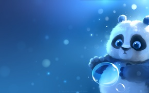 Picture Panda, bubble, by Apofiss