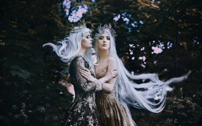 Picture hair, two girls, Bella Kotak, To be a Queen