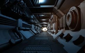 Picture the tunnel, equipment, Processor 9