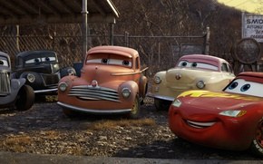 Picture car, Cars, film, friends, animated, animated movie, Cars 3