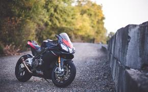 Picture design, motorcycle, Aprilia