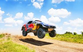 Wallpaper Red Bull, Peugeot 2008 DKR, Speed, Sport, DKR, Lights, 2008, Rally, Race, Dakar, Dakar, Rally, ...