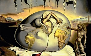 Picture surrealism, picture, Salvador Dali, Salvador Dali, Geopolitical Child Watching The Birth Of A, The New …
