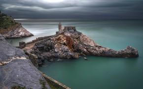 Wallpaper Italy, Portovenere, Liguria, sea