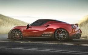 Wallpaper car, auto, tuning, car, alfa romeo, auto, tuning, Yasid Design, Yasid Oozeear, alfa romeo 4c ...