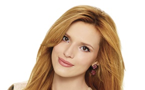Picture girl, face, earrings, makeup, beautiful, Bella Thorne