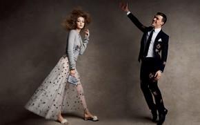 Picture model, male, Gigi Hadid