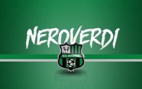 Picture wallpaper, sport, logo, football, Serie A, Neroverdi, Sassuolo