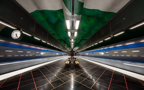 Picture Metro, Stockholm, Architecture